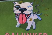 Galunker the Pit Bull / This is a kids' book. It's funny. And an effort to end the witch hunt against pit bulls. Funded via Kickstarter, and promoted by pit-bull advocates. (You!) Written by Douglas Anthony Cooper, and Illustrated by Dula Yavne: https://www.facebook.com/Galunker