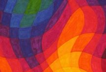 barevná abstrakce
