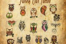 Tatuaje Cu Bufniță