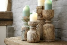 decorations: candlesticks