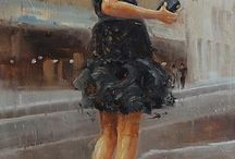 Beauliful art girl