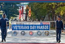 Georgia Veterans Day Association / To pay tribute to our Veterans every November in celebration of Veterans Day. And to educate our next generation of America's Legacy of Service.