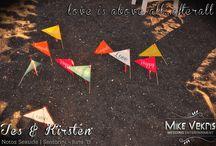 Santorini Destination Wedding | Kirsten & Tes | June 2015 | Notos Seaside / Photos from a small romantic #destionation #wedding in #Santorini