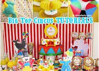 Circus Party Ideas Board - Cake 2 The Rescue / Super cute party food and table decorating ideas to compliment our fantastic Circus  themed Cake Rescue Kits from www.cake2therescue.com.au
