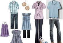 Family Portraits: Great Clothing Choices / Pinterest finds to help you choose your wardrobe for you photo session!