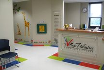Pediatrician's Office / A fun, bright and cheery office for children and adults of all ages.