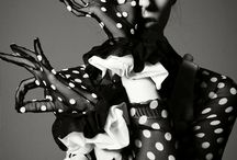 pois / pois, black and withe , spotted, mini pois