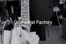 Our Hat Factory / Costo hats are born here