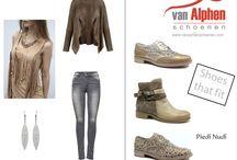 Shoes that fit / Dames mode gecombineerd met eigentijdse schoenen die pure pasvorm bieden.