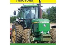 John Deere / Agricultural, construction, and forestry machinery, diesel engines, drivetrains (axles, transmissions, gearboxes) used in heavy equipment, and lawn care equipment.
