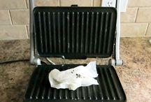 Kolay tost Makinesi temizliği