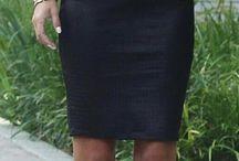 Shirt and skirt.