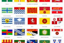 flags and maps
