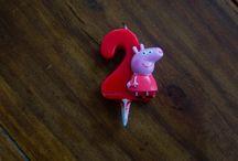 Kids Party with Peppa Pig / Przyjęcie urodzinowe dla malucha z motywem przewodnim bajowego bohatera.