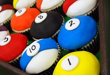 Pool balls toppers
