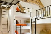 Bedrooms for big people and small ones / by Jennyshere BC