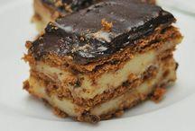 Muhallebilili bisküvi pasta