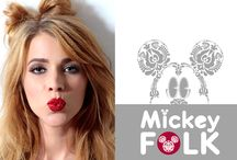 Mickey Folk / Mickey Folk Collection  ©Disney  Design: Walt Disney Produced: Pampress Kft. Hungary Photo: Annamari Gref Make-up: edit Matis Hair: Attila Vikter Kovacs Model: Dora Banhidi