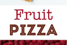 Fruit pizza for deco in pavalova or cheese cake
