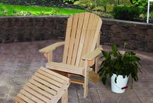 Adirondack chairs / #Amish made #Adirondack chairs set the bar high for outdoor enjoyment. Take in the #beauty of #nature from the comfort of your #custom chair.
