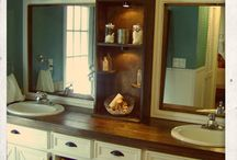 bathroom ideas / by Melody Wadley