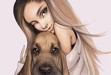 Ariana Grande's dogs