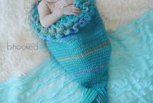 mermaid baby crochet