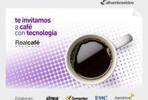 Desayunos Tencnológicos 2014 / esde Alhambra-Eidos, en nuestro empeño por mostrarte las principales tecnologías de la mano de los principales actores del mercado TI, te proponemos una serie de desayunos tecnológicos para que, mientras tomamos un café, conozcas cómo hacer más eficiente a tu organización, invirtiendo muy poco tiempo, lo que dura un desayuno de trabajo. Te lo ponemos fácil. Elige qué temáticas son las que te interesan e inscríbete.
