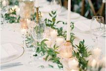Wedding table centerpieces