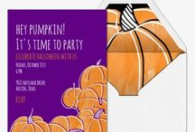 Halloween Invitations / Send a scare when you invite friends & family to your Halloween bash. With free and premium invitations for kids and adults, you'll set just the right amount of spook for your eerie affairs. / by Evite