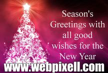 Seasons Greetings / No.1 for Powerful Websites and Smart Web Solutions! www.webpixell.com