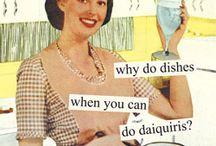 Vintage Housewife Funnies