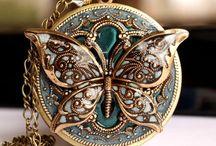 Butterfly locket