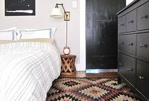 Black ACCENTS / Spaces with touches of black.