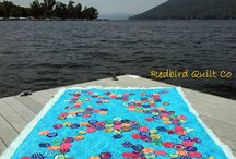 Keuka View Quilts / Sharing images of the things I've made as seen with a Keuka Lake backdrop