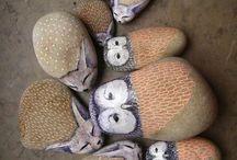 Расписные камни-Painted stone