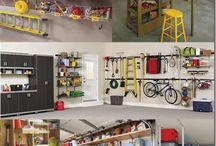 garage organization / garage