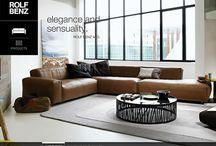 Rolf Benz | Van Oort Interieurs / Rolf Benz is een Duits designmerk dat al vanaf 1964 vele banken, fauteuils, tapijten, stoelen en eettafels heeft geproduceerd. Het Duitse designmerk stelt hoge eisen aan de kwaliteit van de producten die ze leveren. Echter, ook met de esthetische eisen wordt wel degelijk rekening gehouden. Schoonheid, eenvoud en elegantie zijn kenmerkend voor het merk.