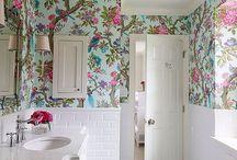 Papel Pintado Dormitorio Aseo