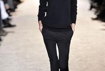 Black still the Basis / #fashion #mode #allinblack #totalblack