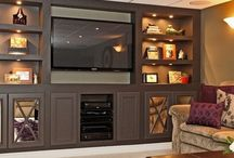 Home entertainment Center Ideas / by Emilee Haning