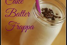 baking and yummy drinks
