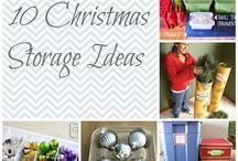 Christmas decoration storage