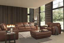 Leather Furniture for classic and contemporary rooms / Leather furniture be it sofas, chairs, ottomans, stools, if it's leather and you can sit on it, this is the place for it!