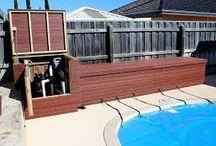 cobertura de piscinas
