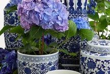 love blue and white