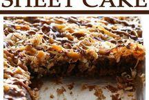 Recipes: Sweet Cakes