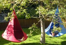 The Garden / Where is your Cacoon hanging?  Hang your Cacoon in the home, on the beach, on the boat, or in the garden!