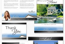 Real Estate Branding / Our top designers have produced thousands of marketing pieces with custom real estate branding for our satisfied clients - postcards, letterhead, business cards and even specialty items like postage stamps, listing presentation boards and much more. We want our clients to absolutely love what they get and use it as a mainstay in their business.   These are samples of some of the brands that our real estate agent clients are using right now to outshine their competition.