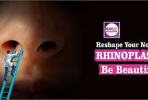 Rhinoplasty (Nose Reshaping) in Mumbai / A Rhinoplasty or a nose job is one of the most commonly sought cosmetic surgery procedure to reshape or resize your nose.